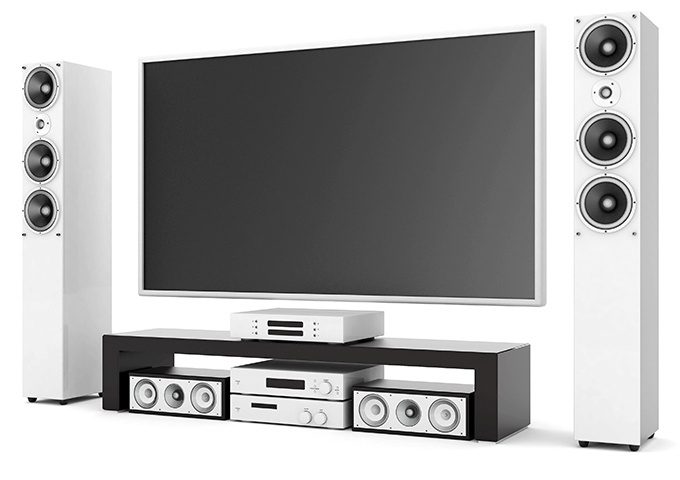 A home cinema from A1 Antennas & Security